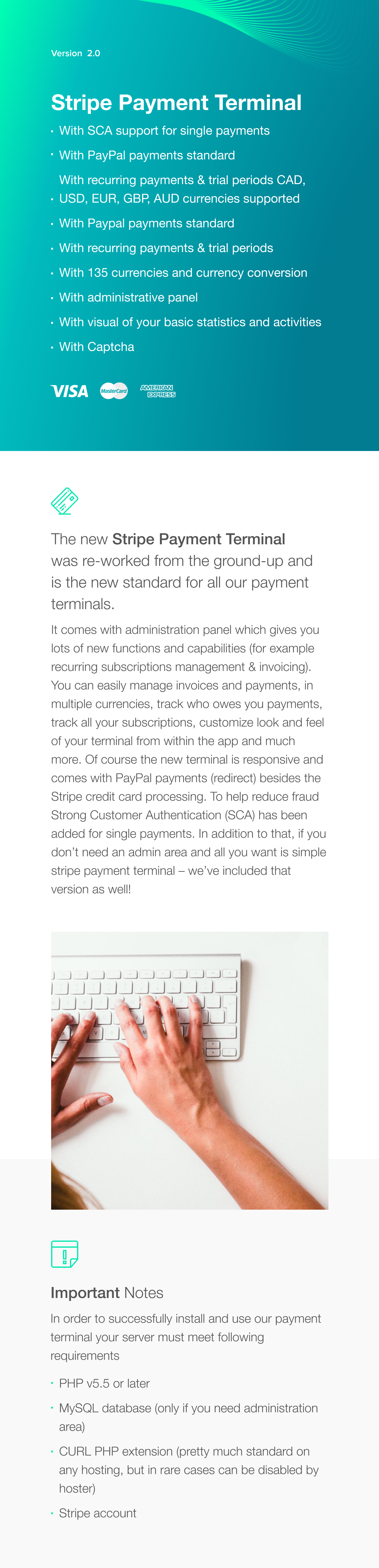 Stripe Payment Terminal - 1
